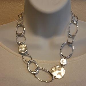 Chloe + Isabel Paillette + Organic Links Necklace